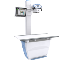 Variable height x-ray system